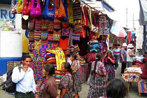 Mercado de Chichicastenango, Guatemala (Foto: eleonor Creative Commons)