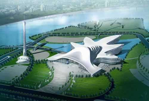 El Museo de Ciencias más grande del mundo abrió en China  2