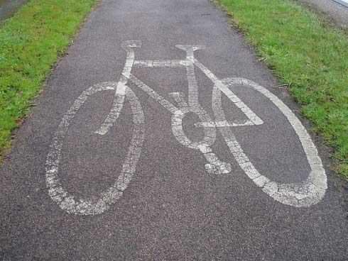 Carril-bici Londres-París 2