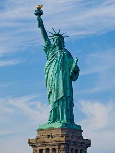 Obama quiere reabrir la Estatua de la Libertad 2