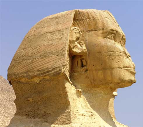 La fascinante Gran Esfinge de Giza 2