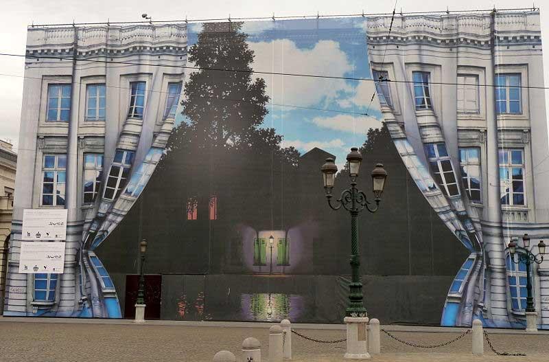 Bélgica inauguró los museos de Magritte y Tintín 2