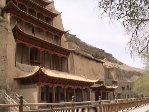 Templo ( Cuevas de Mogao)