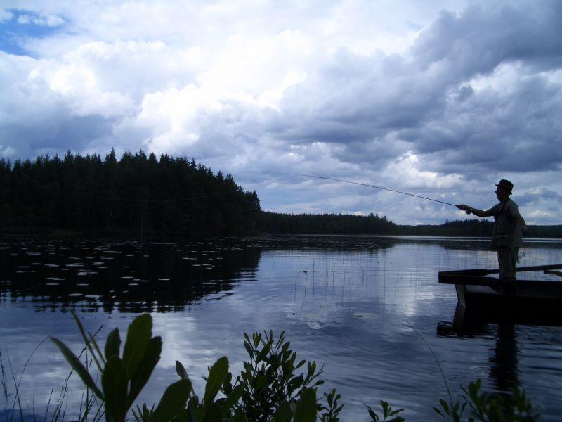 Pesca en Lago Skärsjön
