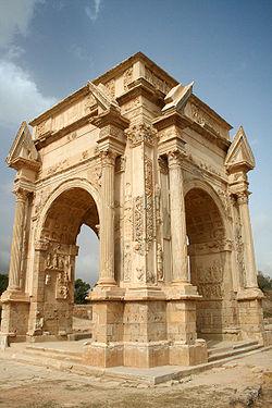 Arco de Septimio Severo ( Fuente: Wikipedia )