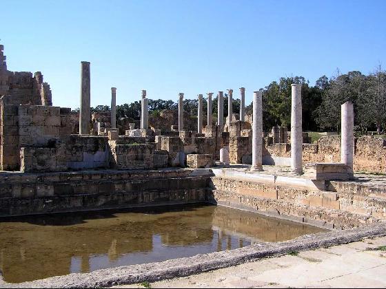 Baños de Adriano, Leptis Magna ( Fuente. virtualtourist.com)