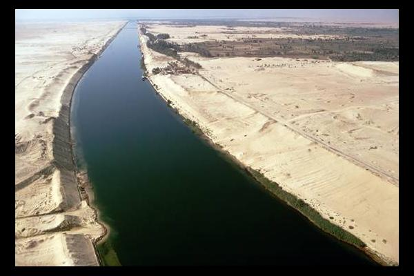 Canal de Suez ( Fuente: withfriendship.com)