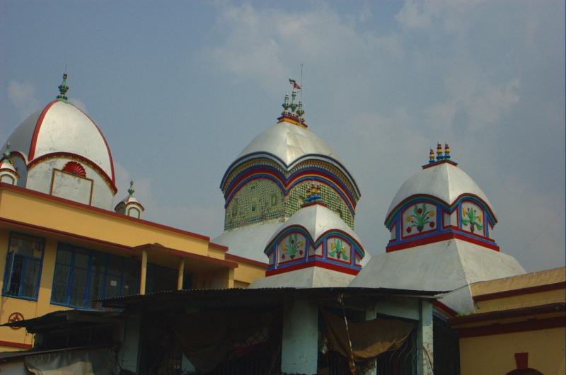 Templo Kalighat en la actualidad ( Fuente: Wikipedia)