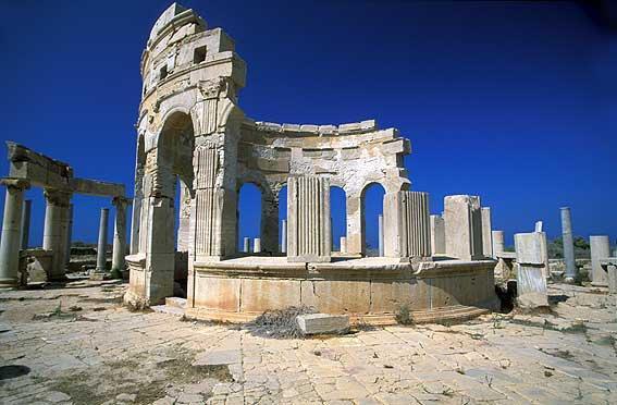 Mercado Leptis Magna