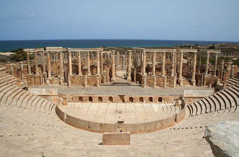 Teatro Leptis Magna ( Fuente: Wikipedia )