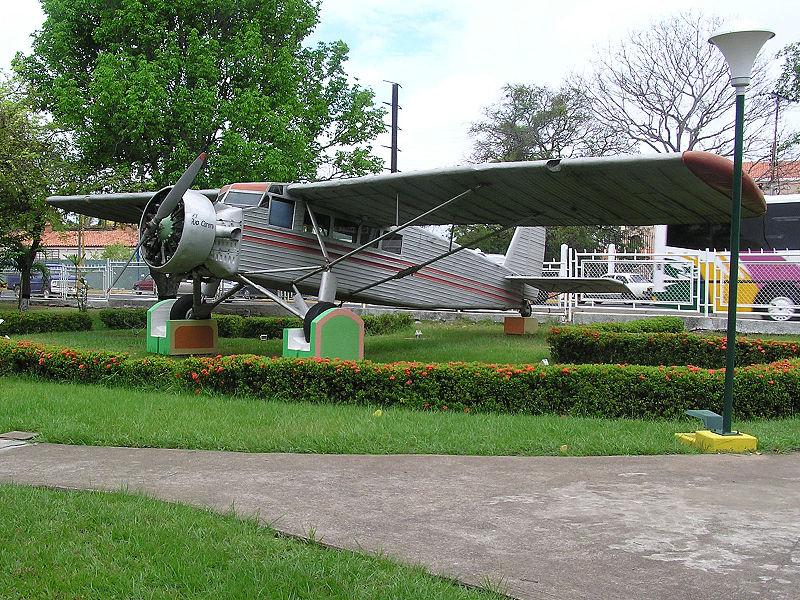 Aeroplano de James Crawford Angel en Ciudad Bolivar ( Fuente: Wikipedia)