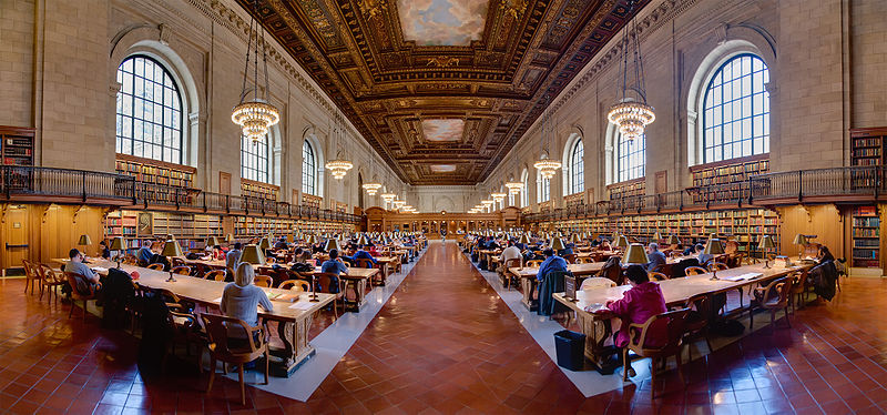 New York Public Library ( Fuente: Wikipedia )