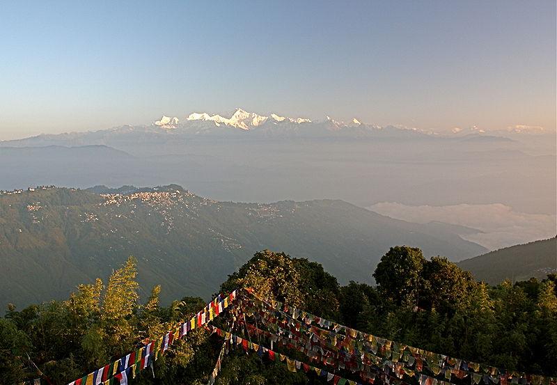 Vista del Himalaya ( Fuente: wikipedia )