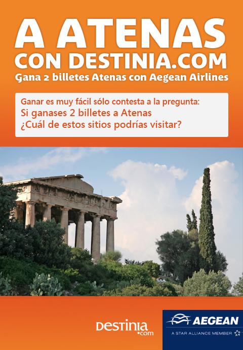 "Ganadora del Concurso ""Destinia.com - Aegean Airlines""  3"