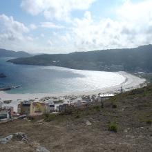 Laxe y su playa