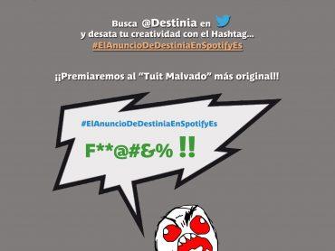 """Destinia.com en búsqueda del """"Tuit Malvado"""""""