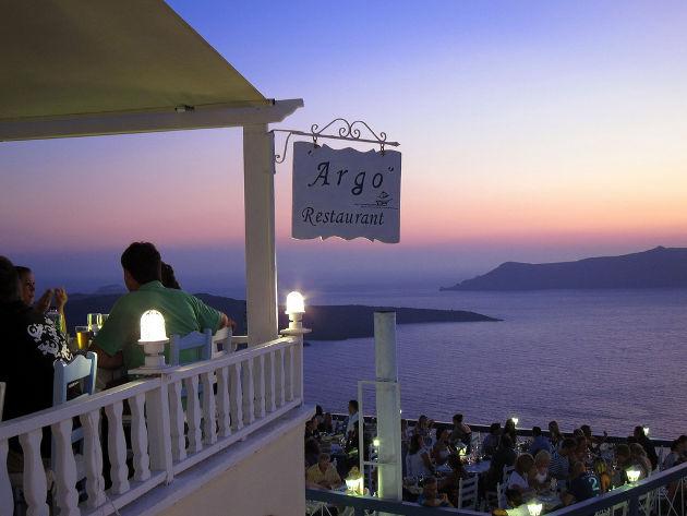 El bar Argo, en Mykonos, Grecia