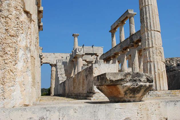 Templo de Afaya, en Egina