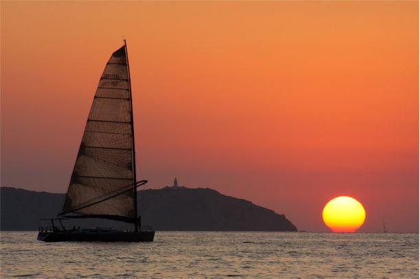 Atardecer ranking playas de Baleares 2014, España