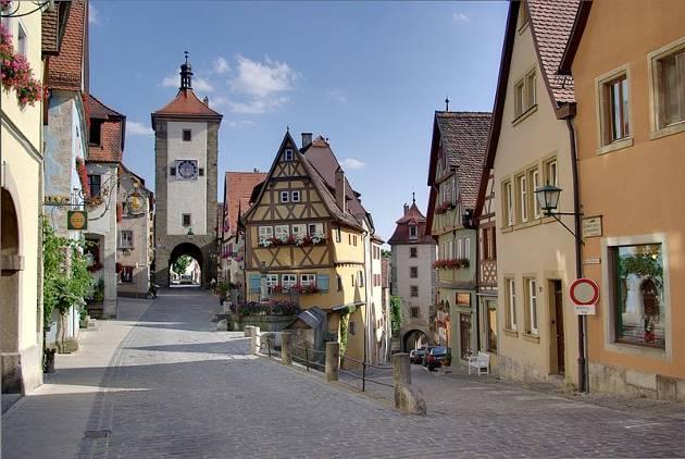 Un viaje a Rothenburg ob der Tauber