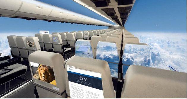 """طائرات بدون نوافذ"""" ثورة جديدة في عالم الطيران """" 1"""