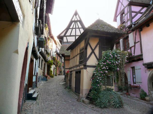 Viajar al pueblo de Eguisheim