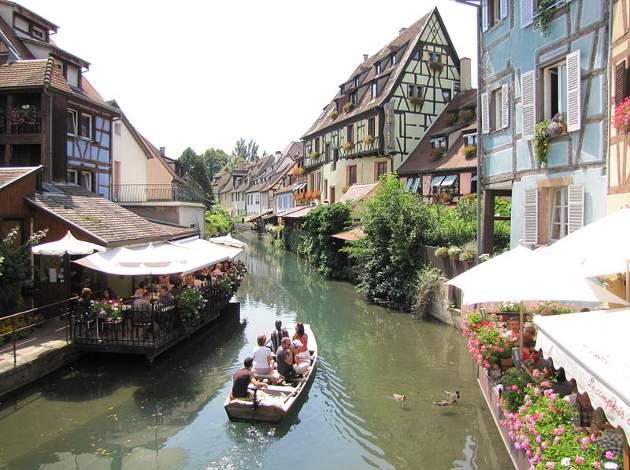 Viajar al pueblo de cuento de Colmar, en Alsacia