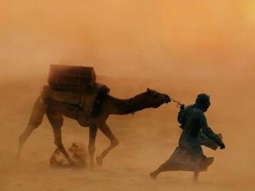 حياة البدو في الصحراء المغربيه