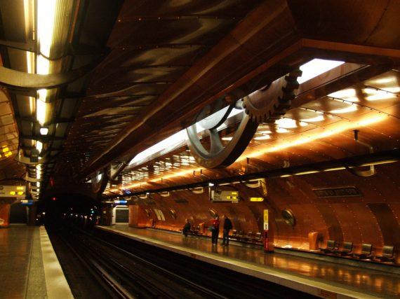4 estaciones de metro fascinantes