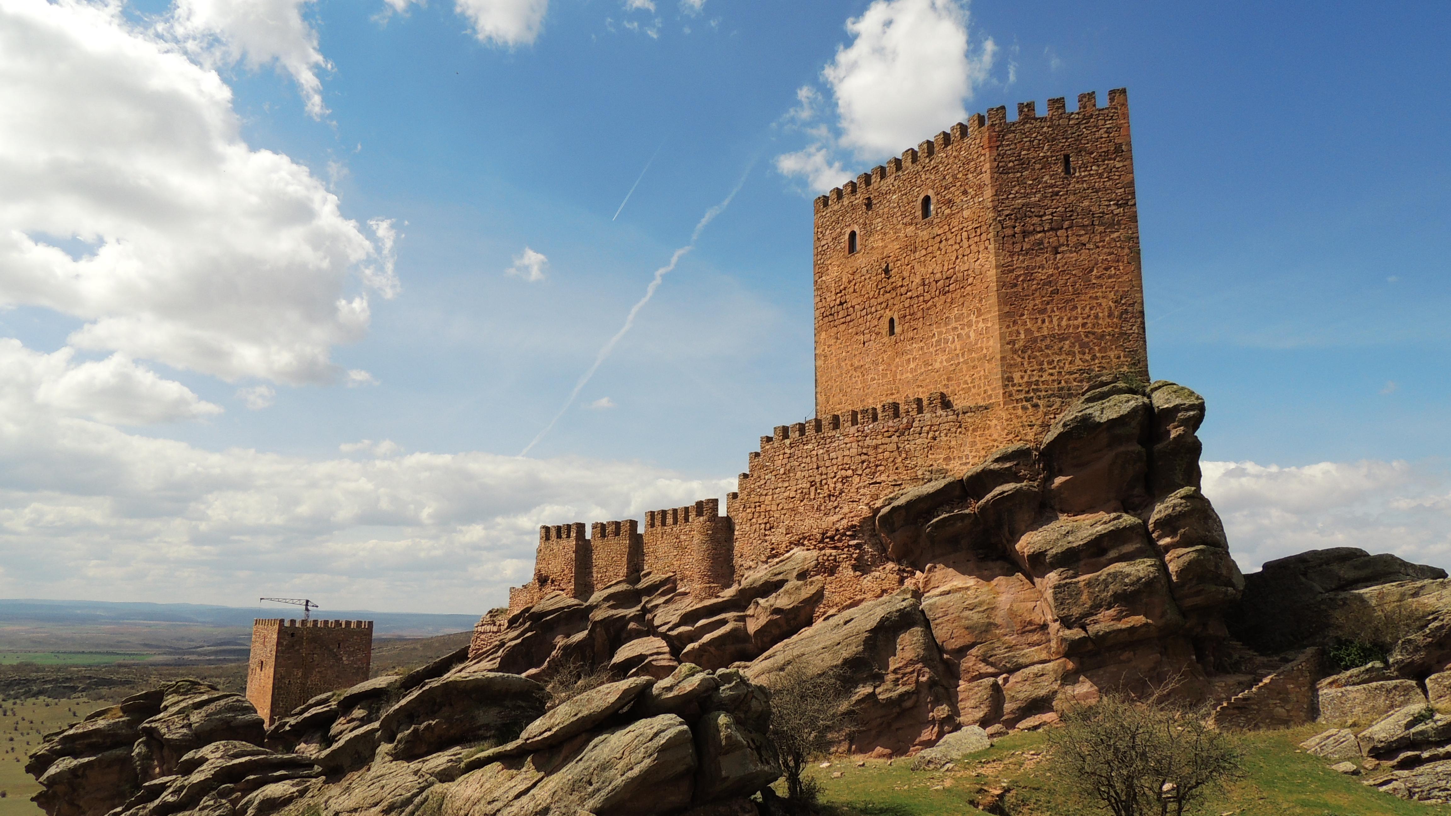 Localizaciones juego de tronos - Castillo de Zafra Juego de Tronos
