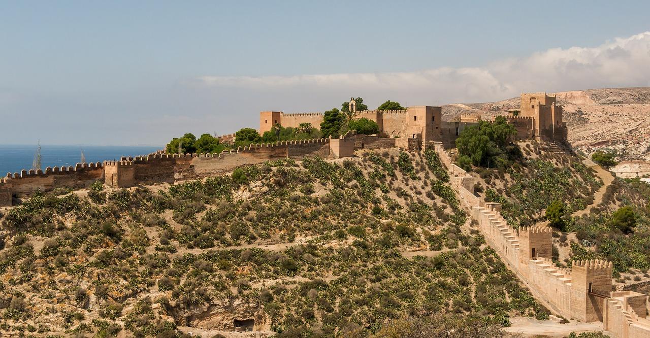 Localizaciones juego de tronos - Alcazaba de Almería Juego de Tronos
