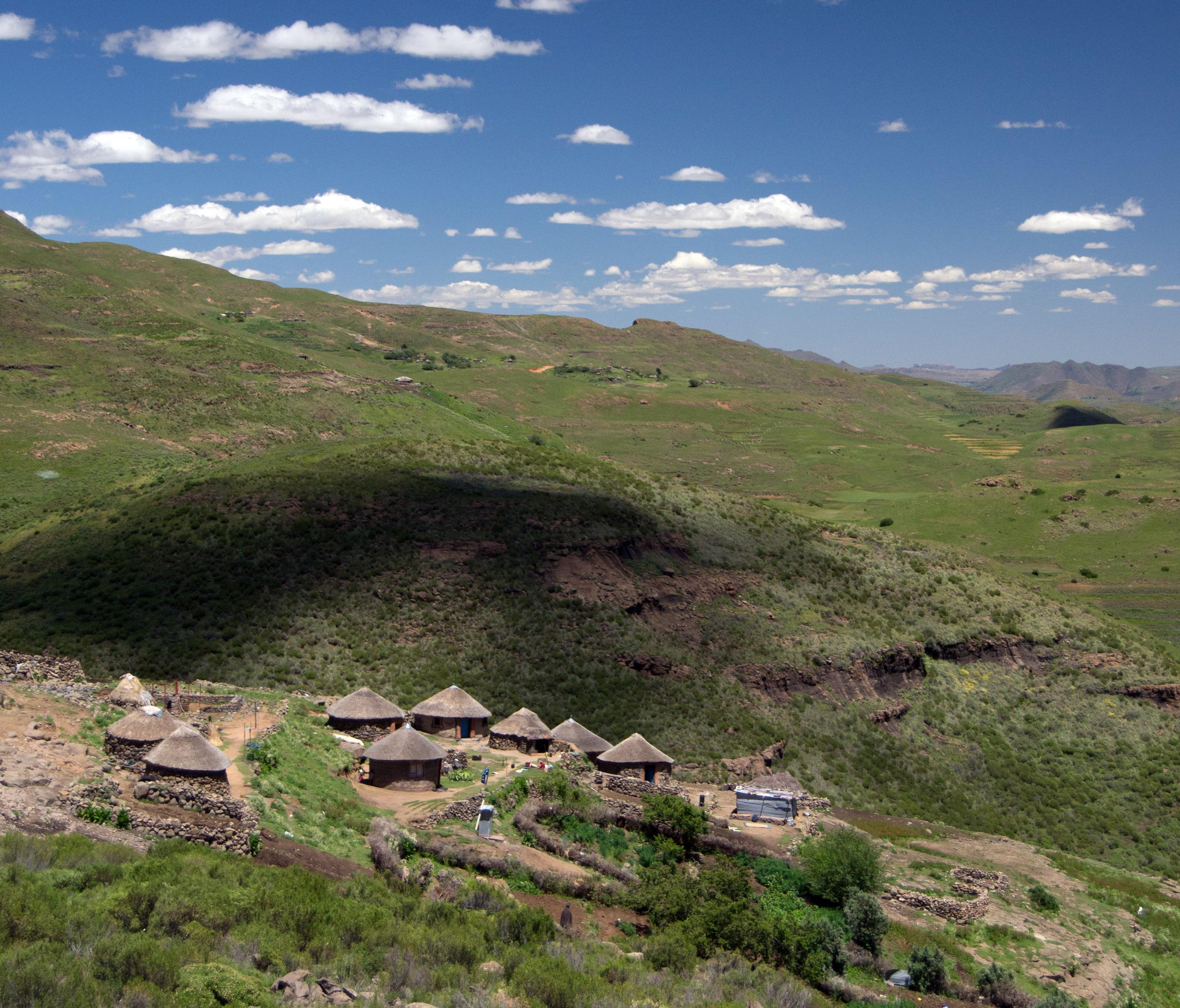 De vacaciones en el sureste de África (parte I): Lesoto 1