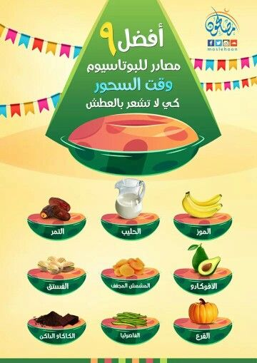 أفضل أنواع السحور في رمضان 1