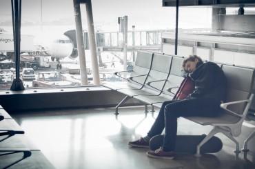 Olvida el jet lag:  clase de gimnasia a 10.000 metros de altura