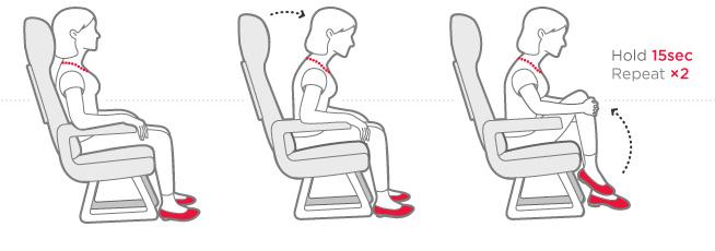 subir rodillas