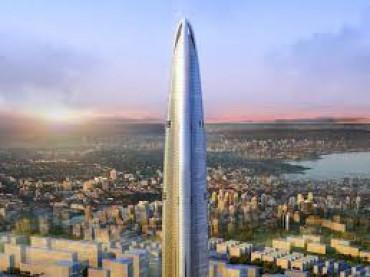 أطول برج تجاري في العالم في دبي