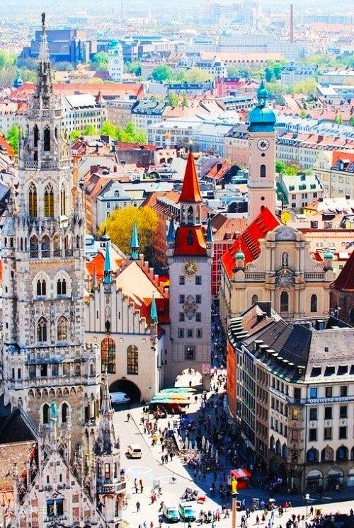 ميونيخ : مدينة عالمية بقلب نابض 1