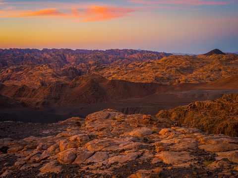 جبل السودة في السعودية