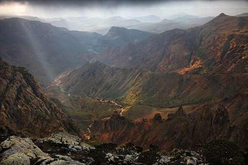 جبل النبي شعيب في اليمن