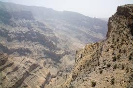 جبل شمس في سلطنة عمان