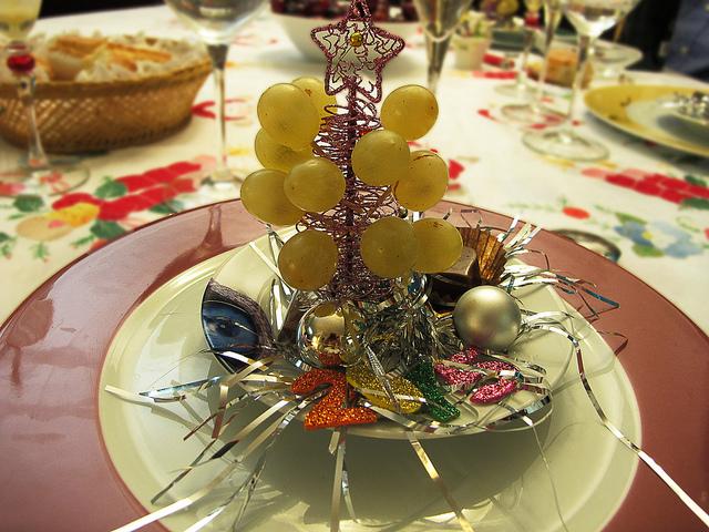 Nochevieja uvas