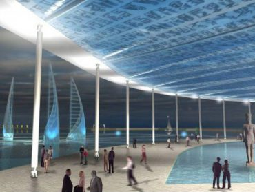 أول متحف في العالم تحت الماء في الإسكندرية بمصر