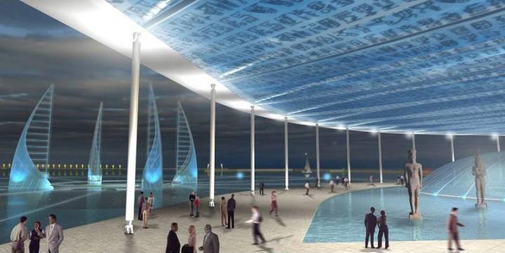أول متحف في العالم تحت الماء في الإسكندرية بمصر 1