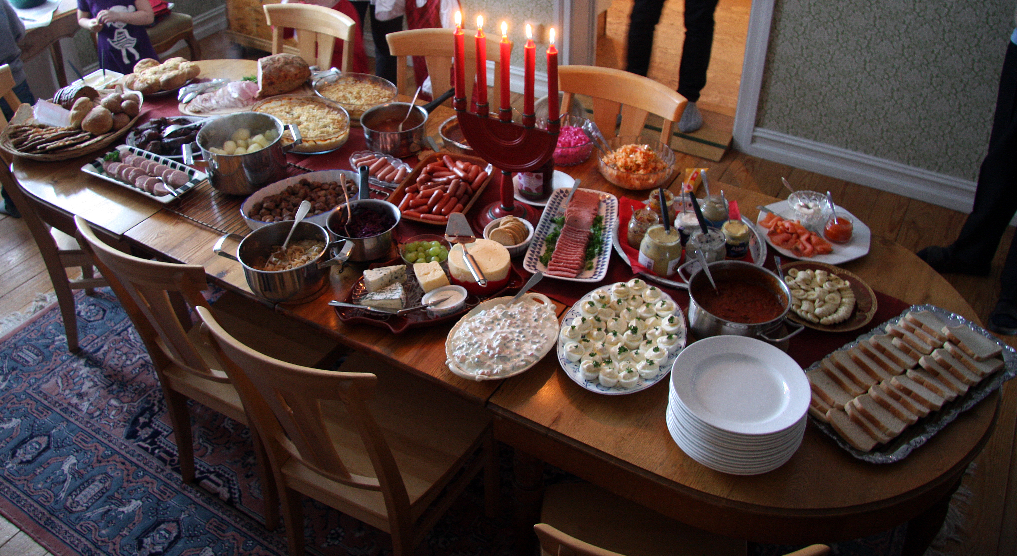 Cenas de Nochebuena (y comidas de Navidad) a lo largo y ancho de Europa 1