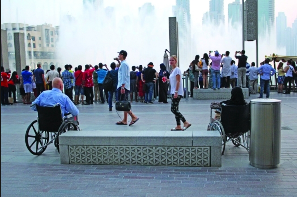 دبي الوجهة العالمية الأفضل لسياحة المعاقين 1