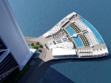 """جزيرة فندق """"برج العرب"""""""
