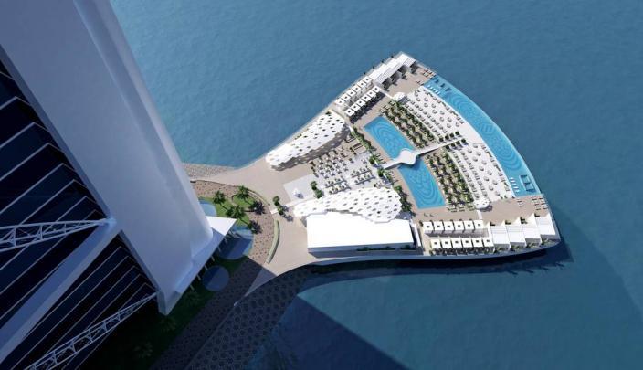 """جزيرة فندق """"برج العرب"""" 1"""
