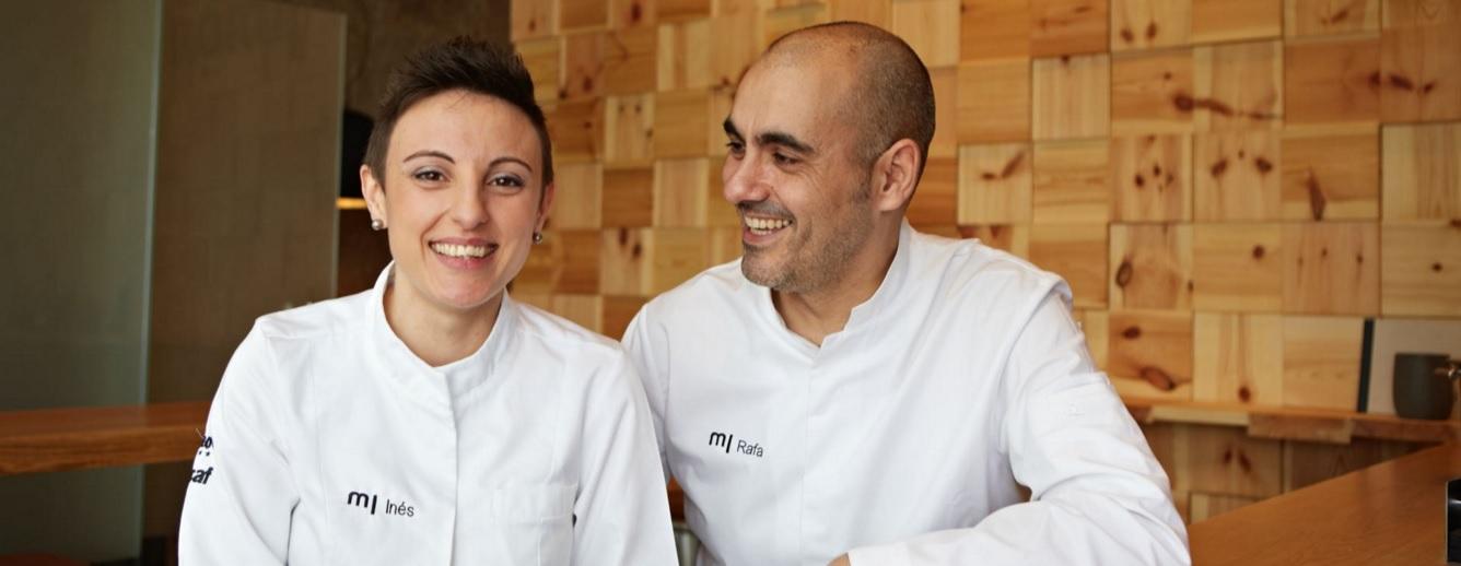 Inés Abril y Rafael Centeno, Chefs de Marujalimón