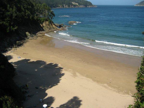 Playa Sacido, Viveiro