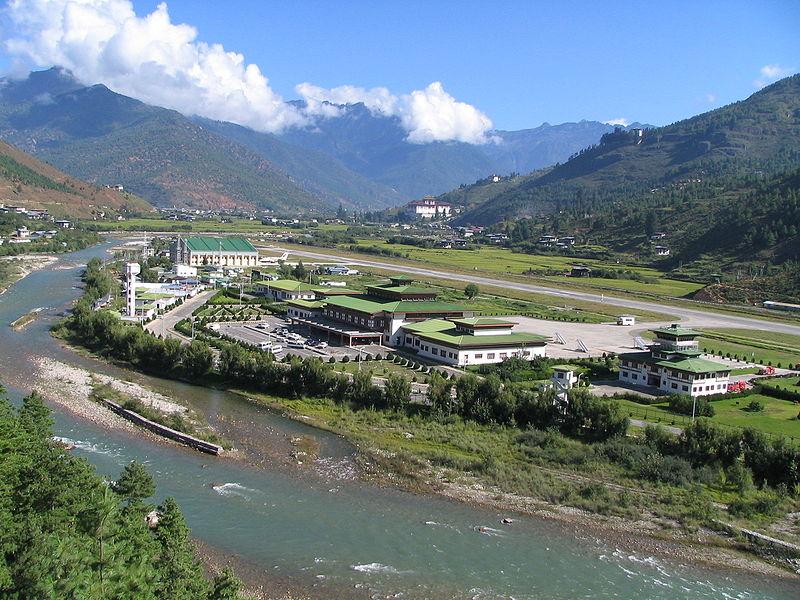Aeropuerto_Paro_bhutan_airoport